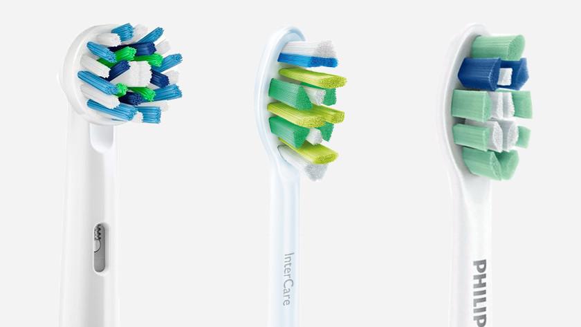 Opzetborstels tandenborstels