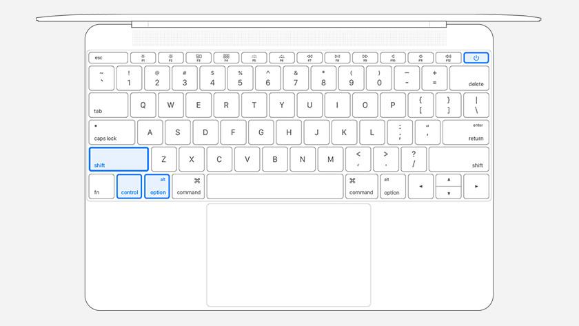 Apple MacBook zonder T2 chip resetten