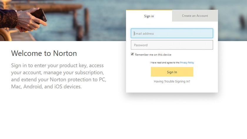 Register Norton