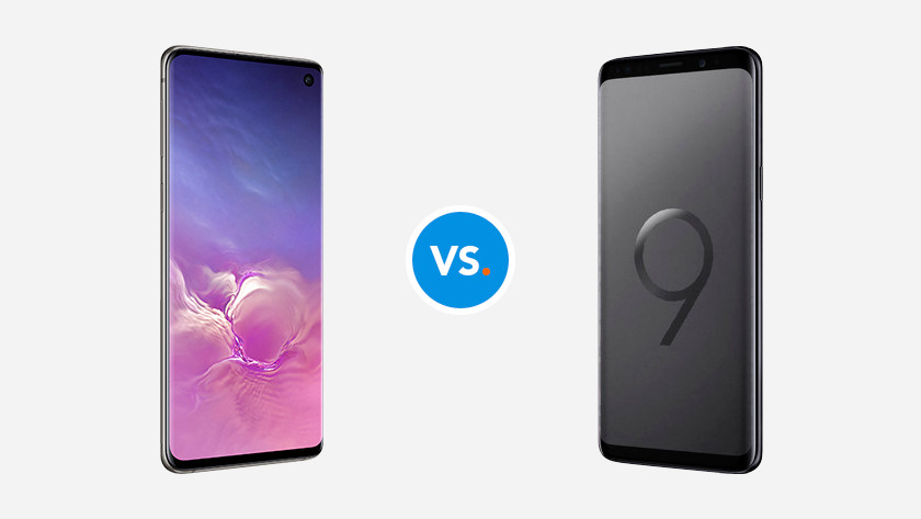 Samsung Galaxy S10 and S9
