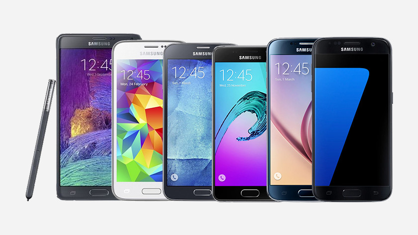 Various Android models