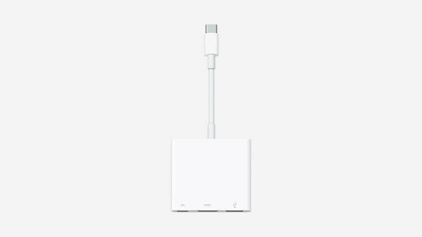 Kabel converter voor Apple MacBook