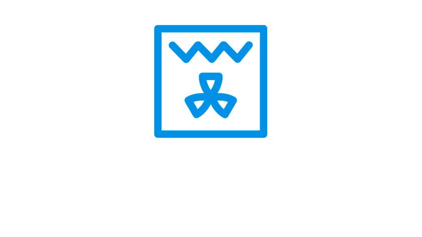 circulation grill symbol
