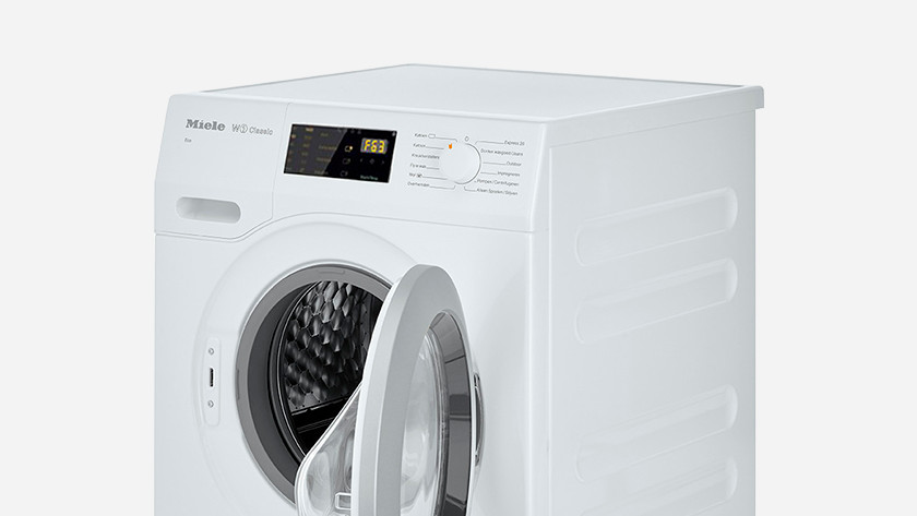 Wasmachine storing