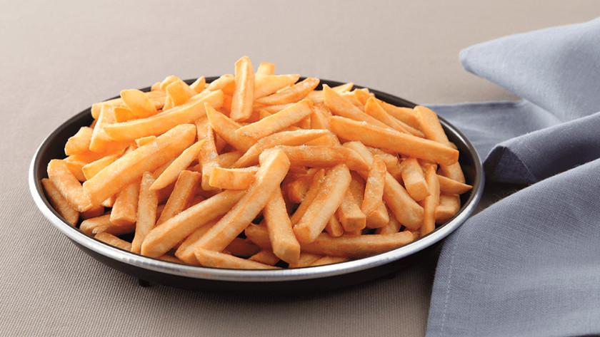 bord met friet