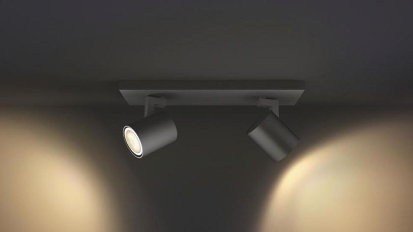Smart lamp lux