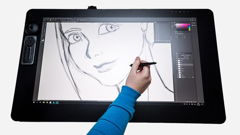 Drawing photo Adobe Photoshop Zbrush use pen tools