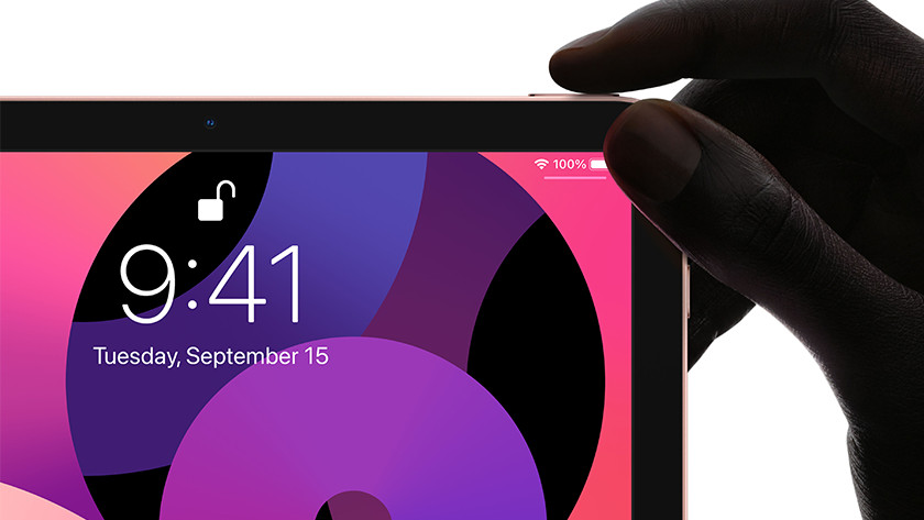 iPad Air (2020) aanzetten