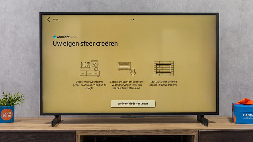 Samsung Ambient Mode background