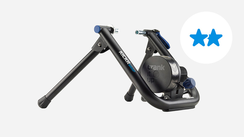 Build quality mid-range bike trainer