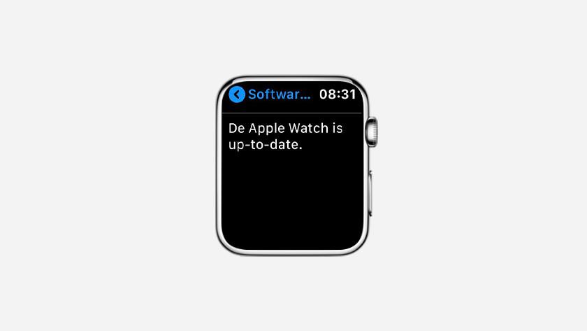 Jouw Apple Watch is nu helemaal up-to-date