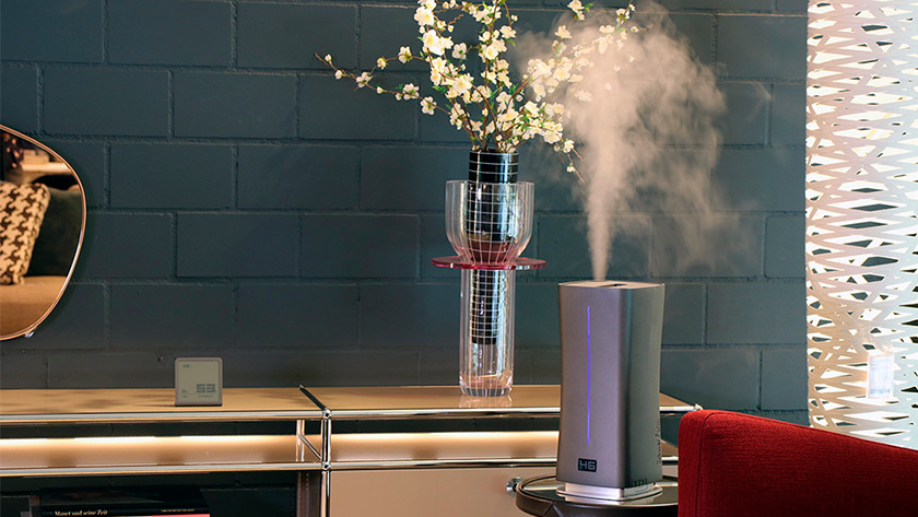 Ultrasonic humidifier living room