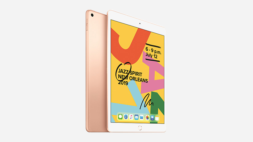 iPad angled