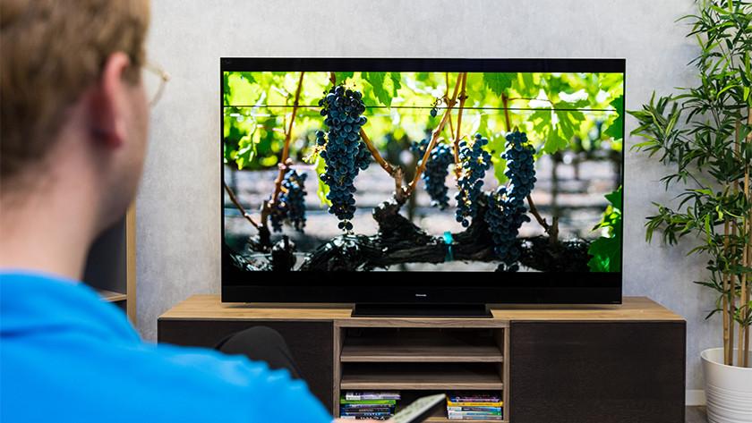Kleurweergave en contrast van de Panasonic HZW2004 OLED tv