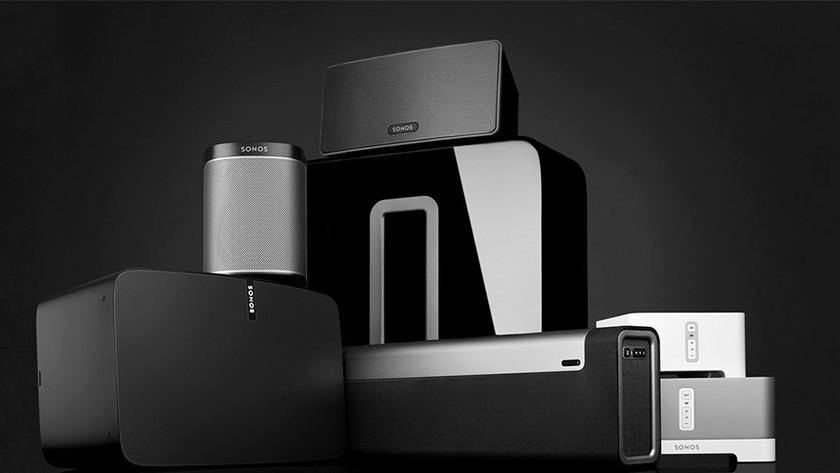 Sonos speakers family