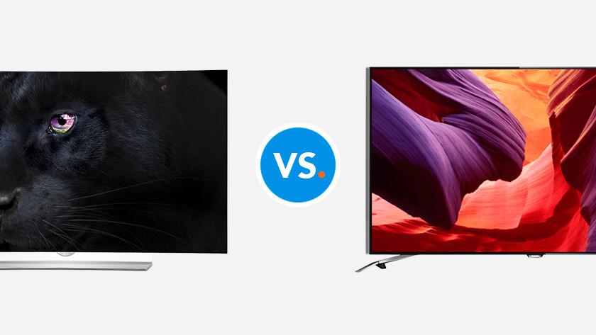 Tv's vergelijken