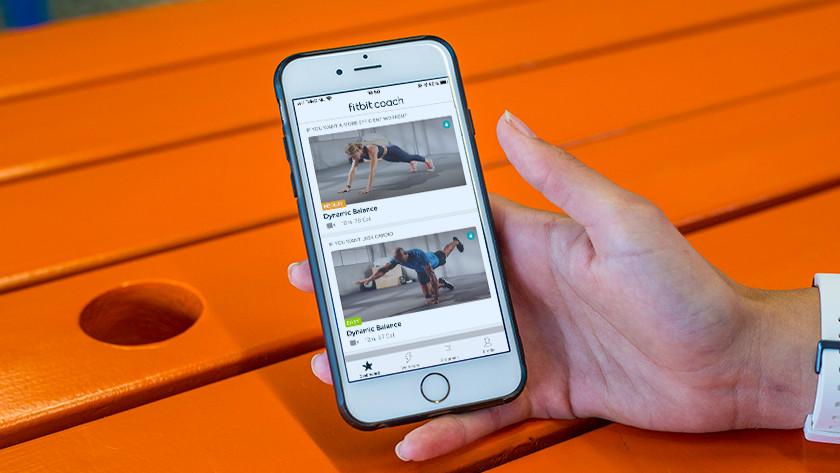 Fitbit Inspire HR toegang tot Coach