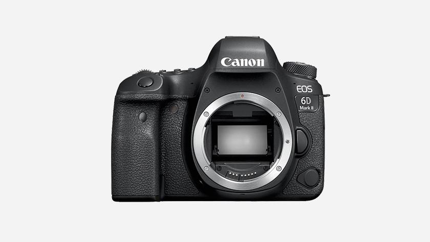 Fysieke kenmerken Canon EOS 6D Mark II