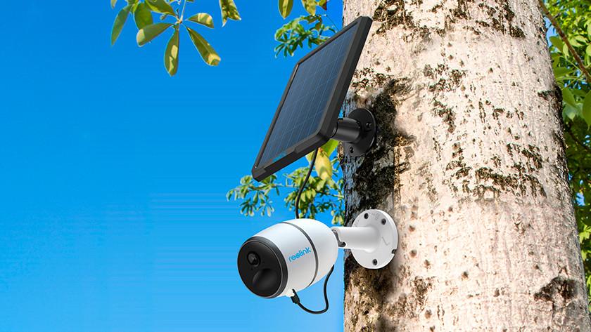 Camera met beelden van 15 dagen op de sd kaart