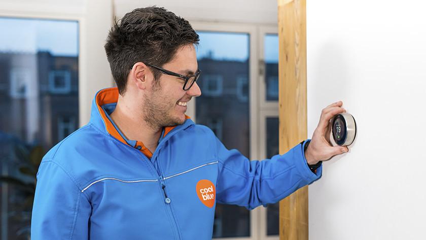 Slimme thermostaat installatie