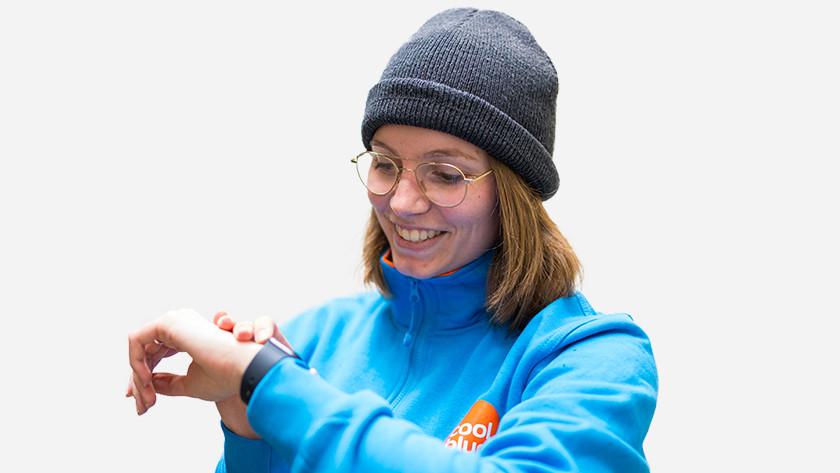 Apple Watch walkietalkie wintersport