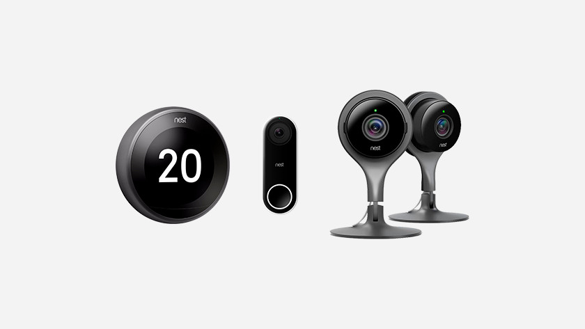 Nest products and Google Assistant