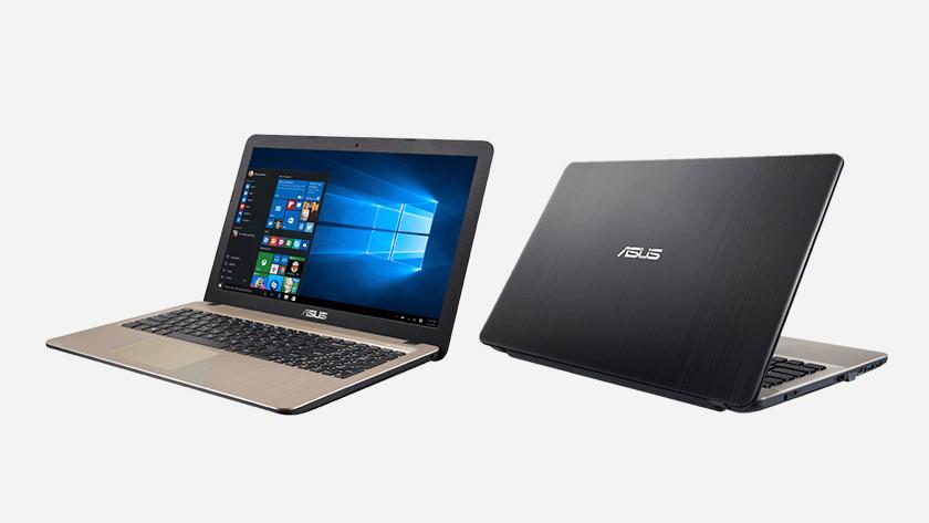 Asus VivoBook laptop.