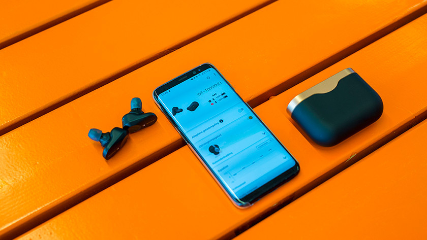 De Sony Headphones Connect app