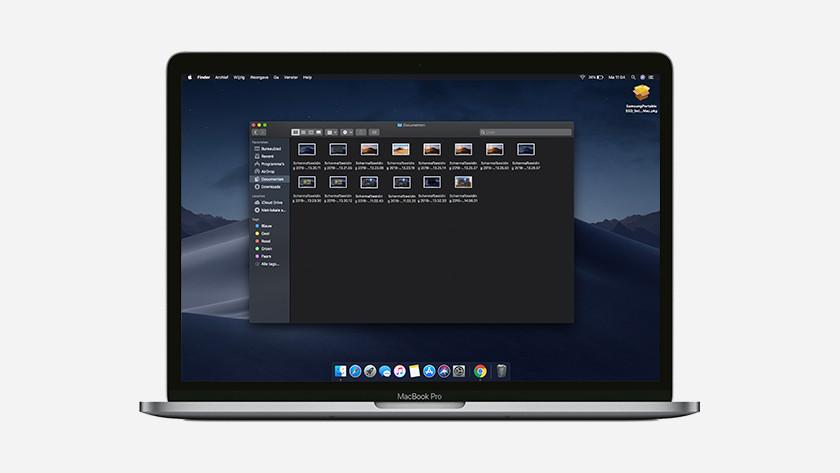 MacBook schermafbeeldingen