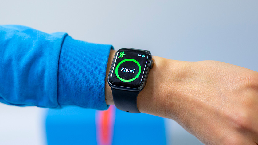 Sporten met Apple Watch Series 4