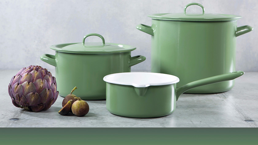 Green BK New Vintage cooking pots