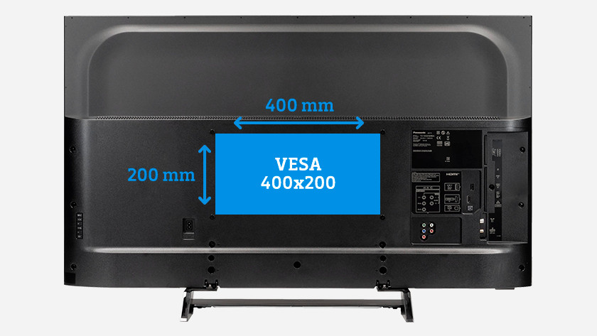What is the VESA size of my TV?