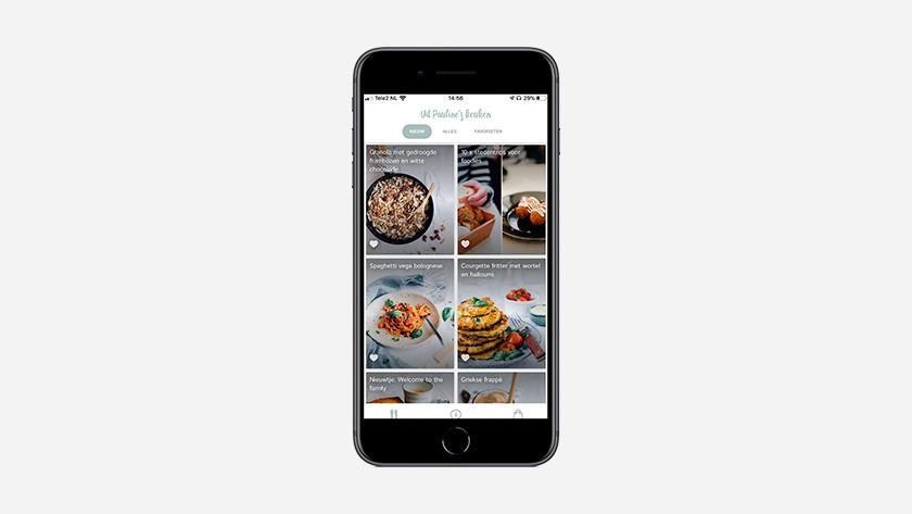 iOS app Uit Pauline's Keuken