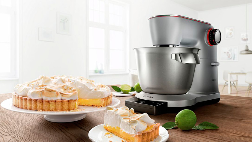 Bosch stand mixer with integrated scale