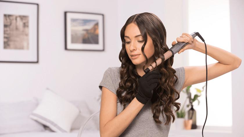 Medium-curl curling iron