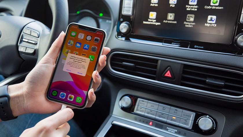 iPhone, auto, Lightning kabel nodig voor CarPlay