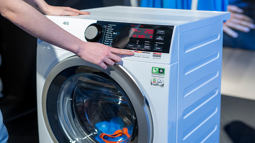 AEG wasmachine stoomfunctie