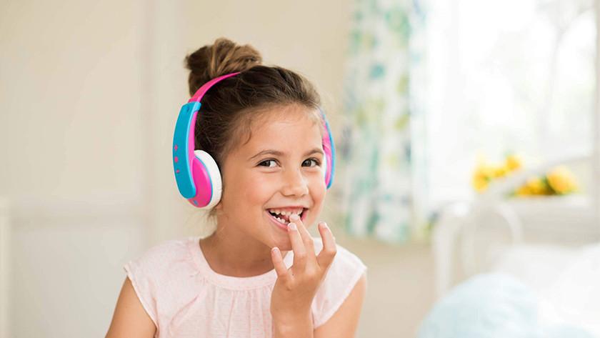 Children's headphones tablet