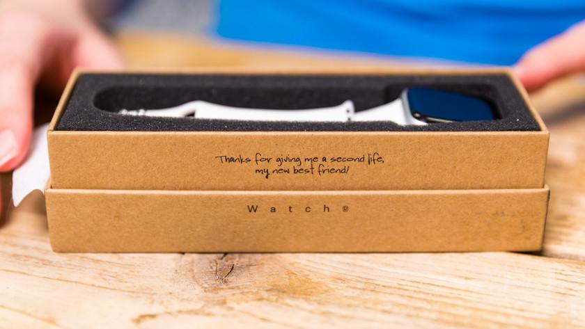 Duurzamere verpakking Renewd Apple Watch