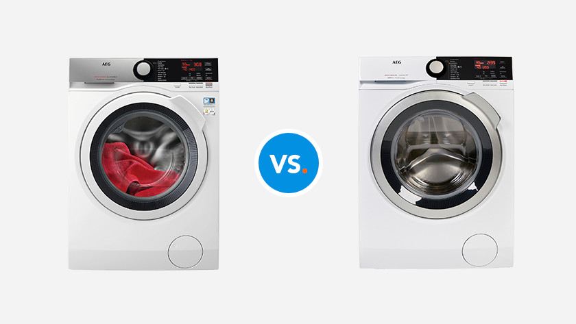 AEG 7000 vs. 8000 washing machine