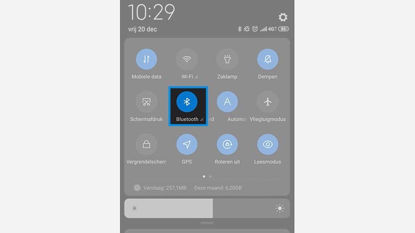 Bluetooth telefoon