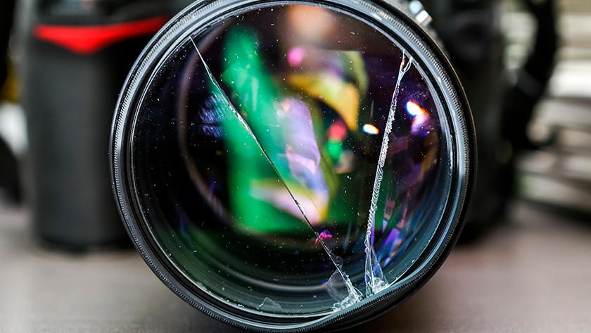 Gebruik lensfilter