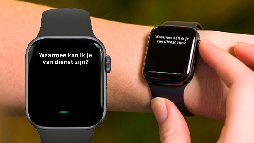Apple Watch Siri agenda vragen