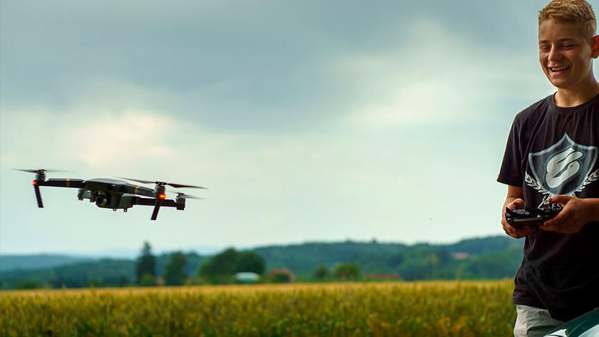 Drone vliegmodi course lock