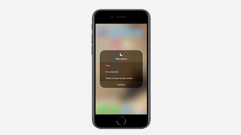iOS 12 niet storen