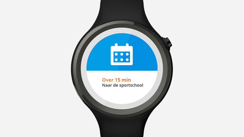 smartwatch calendar