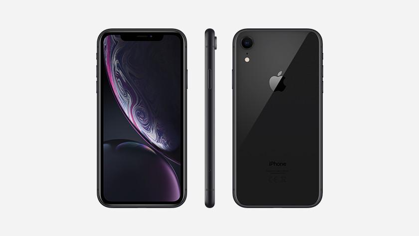 Apple iPhone Xr Zwart