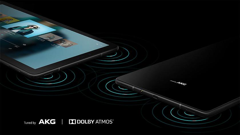Samsung Galaxy Tab S4 AKG speakers