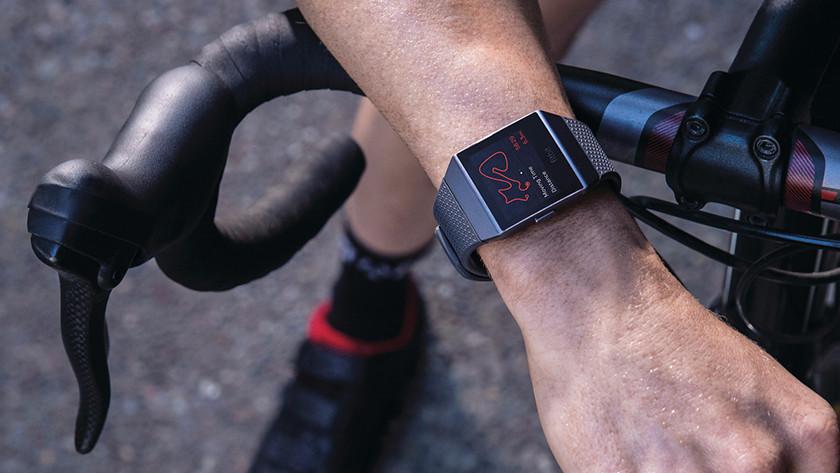 Smartwatch on wrist