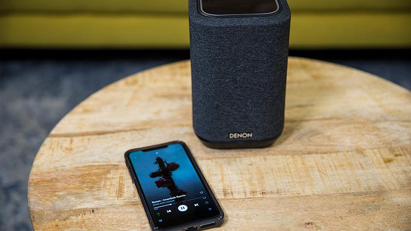 Krachtig geluid bij de Denon Home 150
